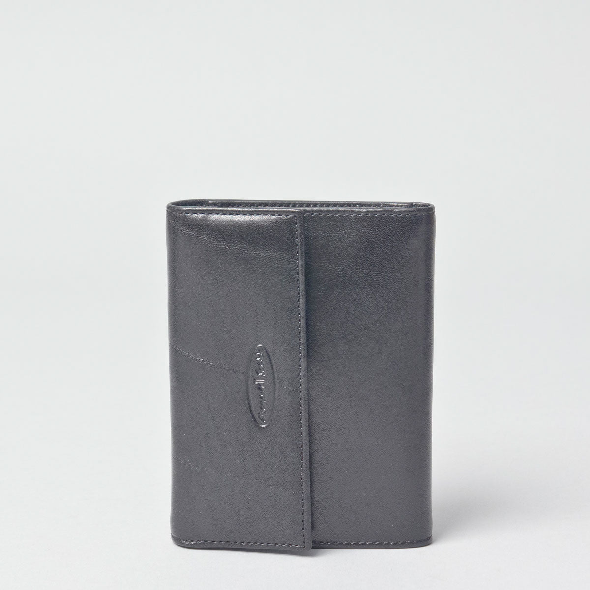Image 2 of the 'Cetona' Black Veg-Tanned Multipurpose Wallet