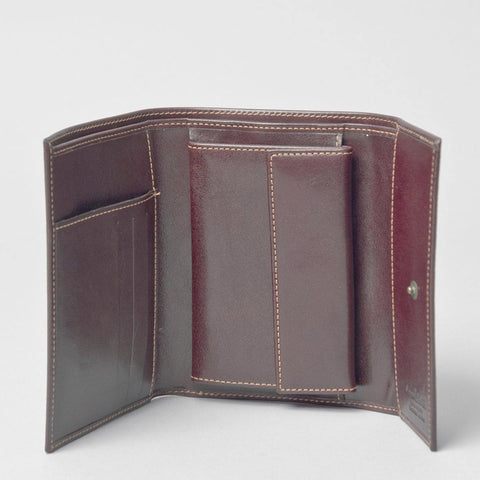 Image 1 of the Large Brown Womens Leather Purse