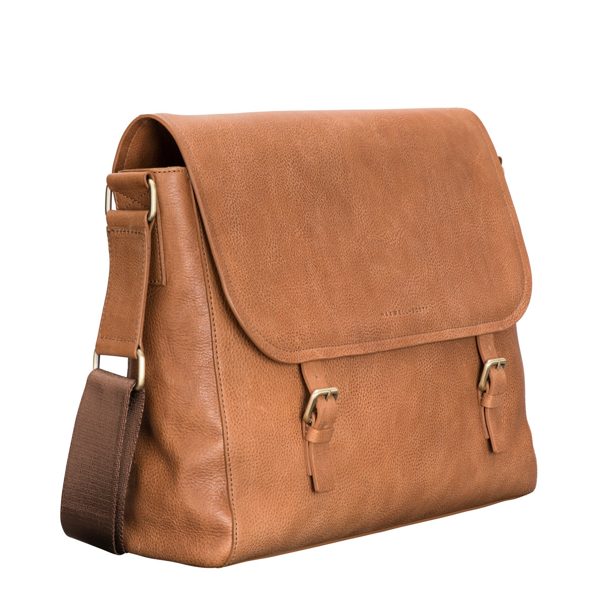 Image 2 of the 'Ravenna' Men's Leather Classic Satchel Bag