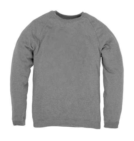 Men's Organic Cotton Grey Jumper