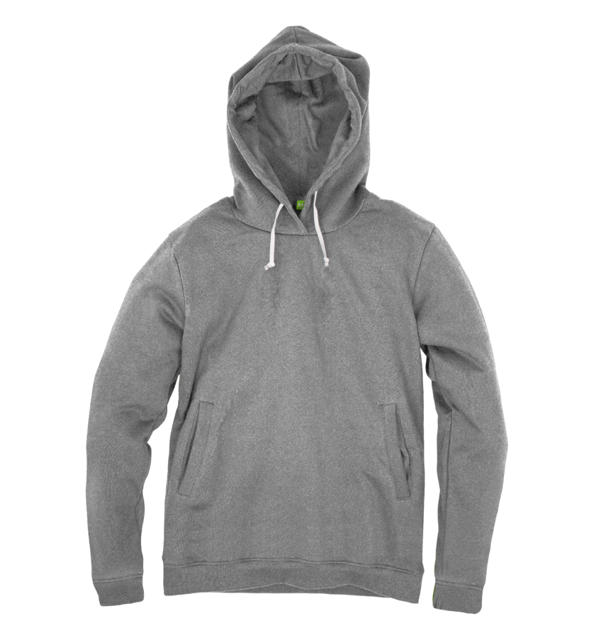 Men's Organic Cotton Grey Hoody