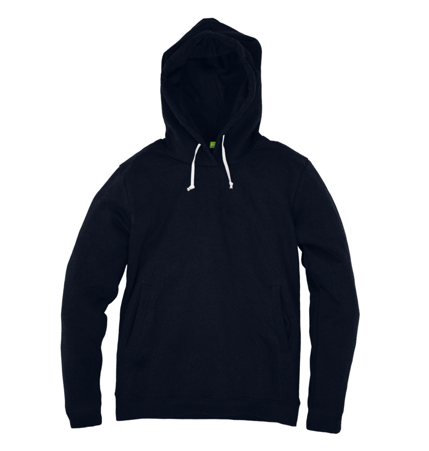 Men's Organic Cotton Navy Hoody