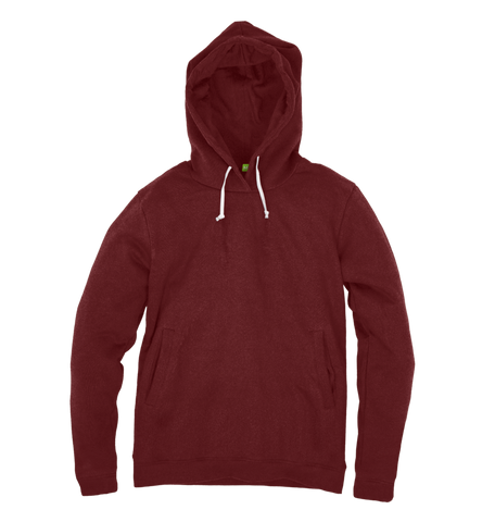 Men's Organic Cotton Red Hoody