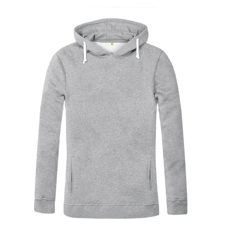 Women's Organic Cotton Grey Hoody