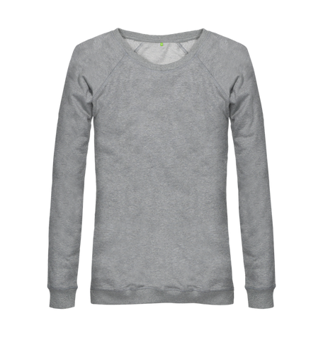 Women's Organic Cotton Grey Jumper