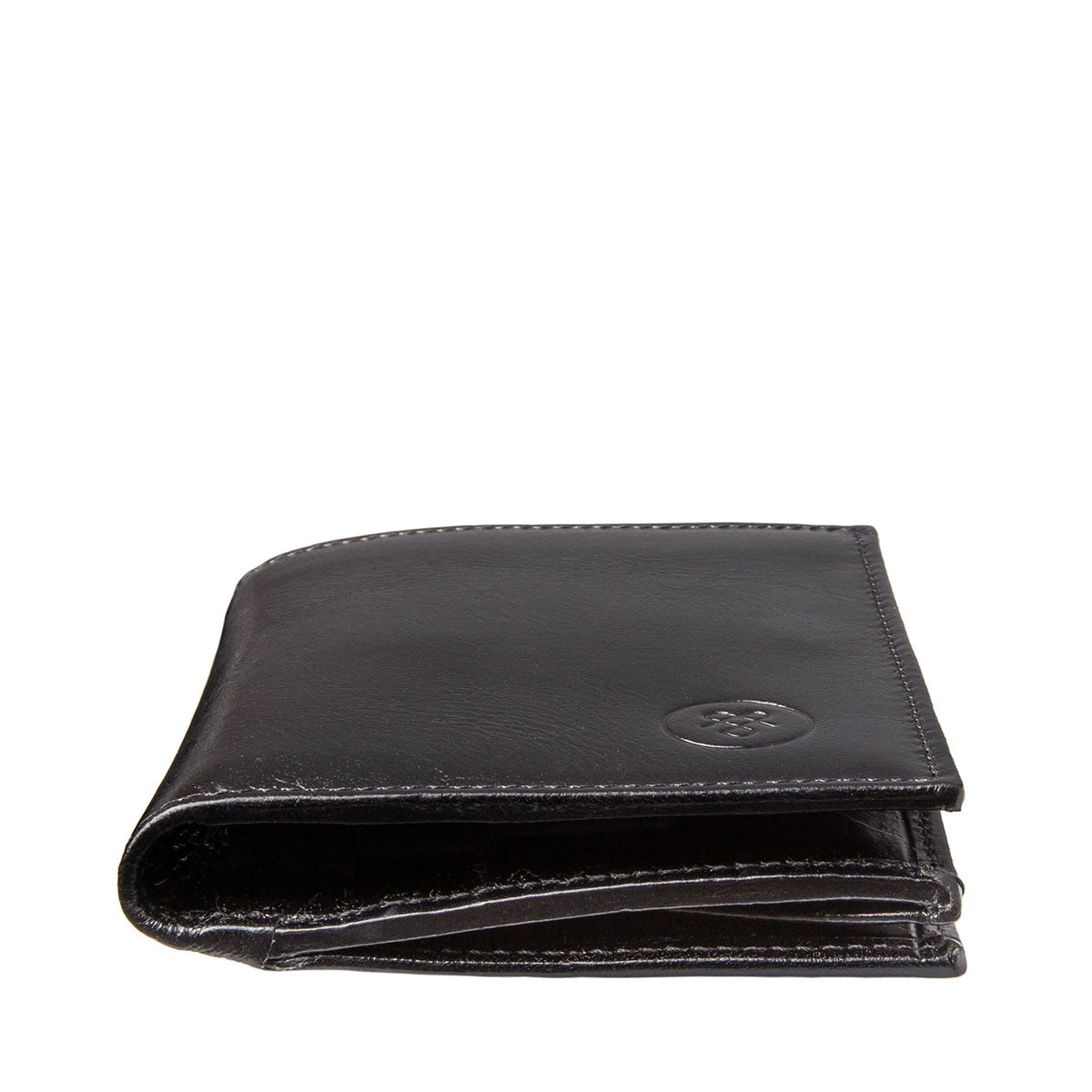Image 6 of the 'Rocca' Black Veg-Tanned Leather Wallet