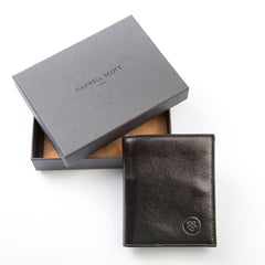 Image 7 of the 'Rocca' Black Veg-Tanned Leather Wallet