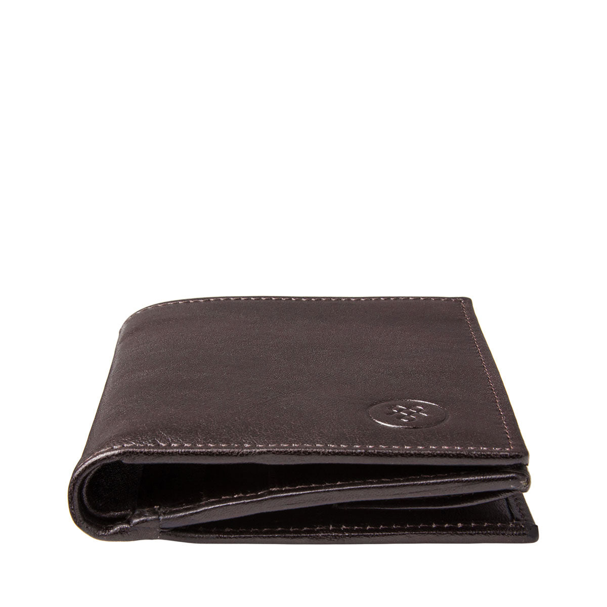 Image 6 of the 'Rocca' Dark Chocolate Veg-Tanned Leather Wallet