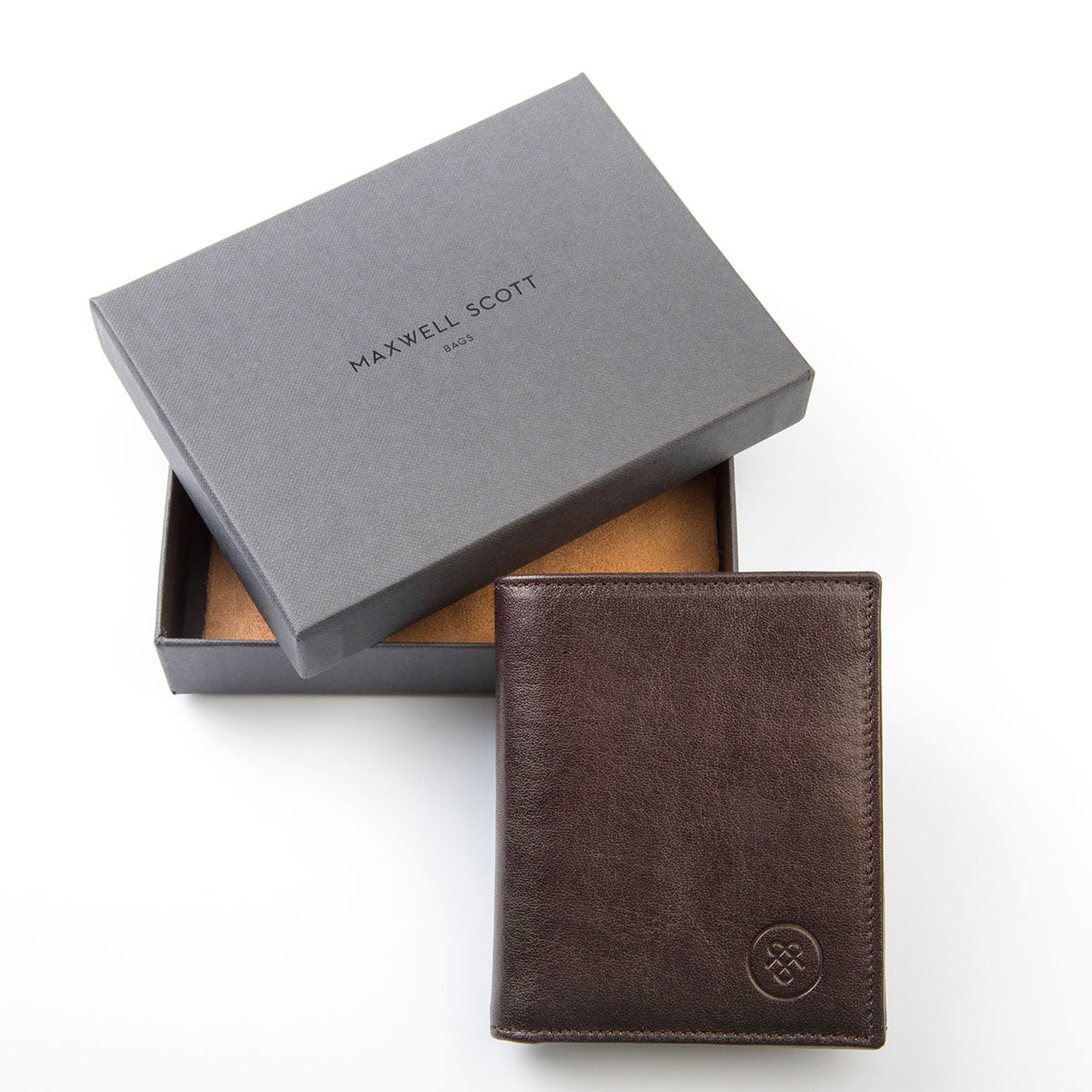 Image 7 of the 'Rocca' Dark Chocolate Veg-Tanned Leather Wallet