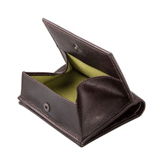 Image 5 of the 'Rocca' Dark Chocolate Veg-Tanned Leather Wallet