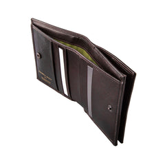 Image 4 of the 'Rocca' Dark Chocolate Veg-Tanned Leather Wallet