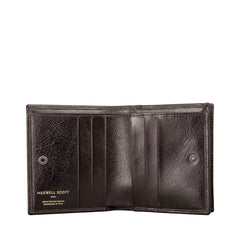 Image 2 of the 'Rocca' Dark Chocolate Veg-Tanned Leather Wallet