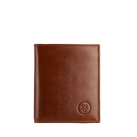 Image 1 of the 'Rocca' Chestnut Veg-Tanned Leather Wallet