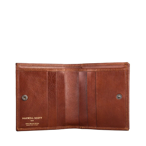 Image 2 of the 'Rocca' Chestnut Veg-Tanned Leather Wallet