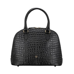 Image 1 of the 'Rosa' Luxury Ladies Mock Croc Tote Bag