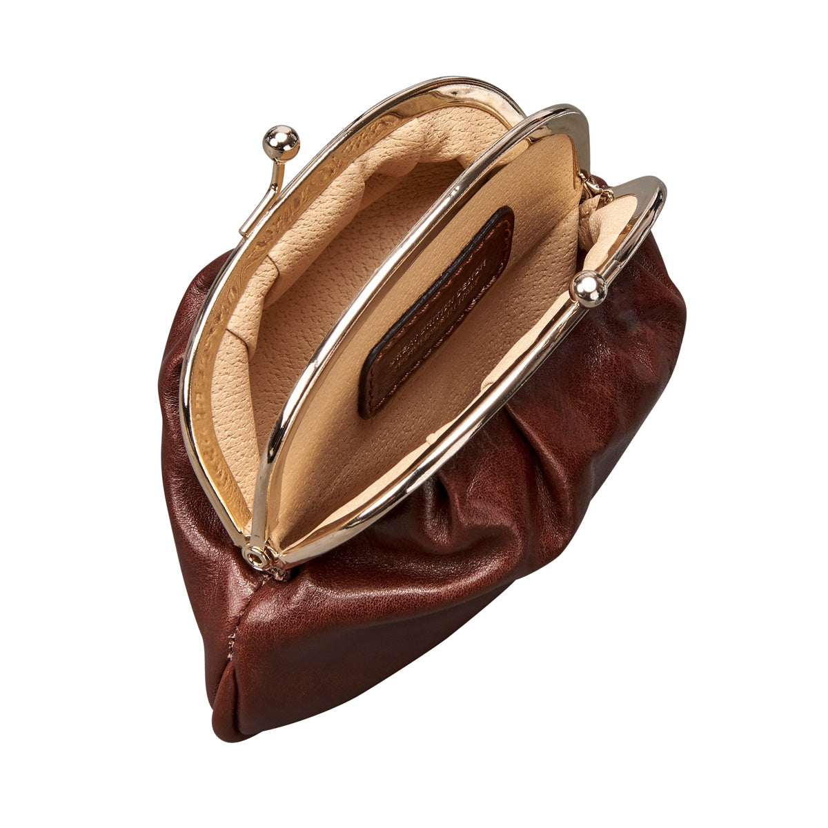 Image 5 of the 'Sabina' Chestnut Veg-Tanned Leather Purse