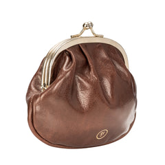 Image 2 of the 'Sabina' Chestnut Veg-Tanned Leather Purse