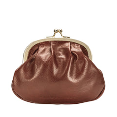 Image 3 of the 'Sabina' Chestnut Veg-Tanned Leather Purse