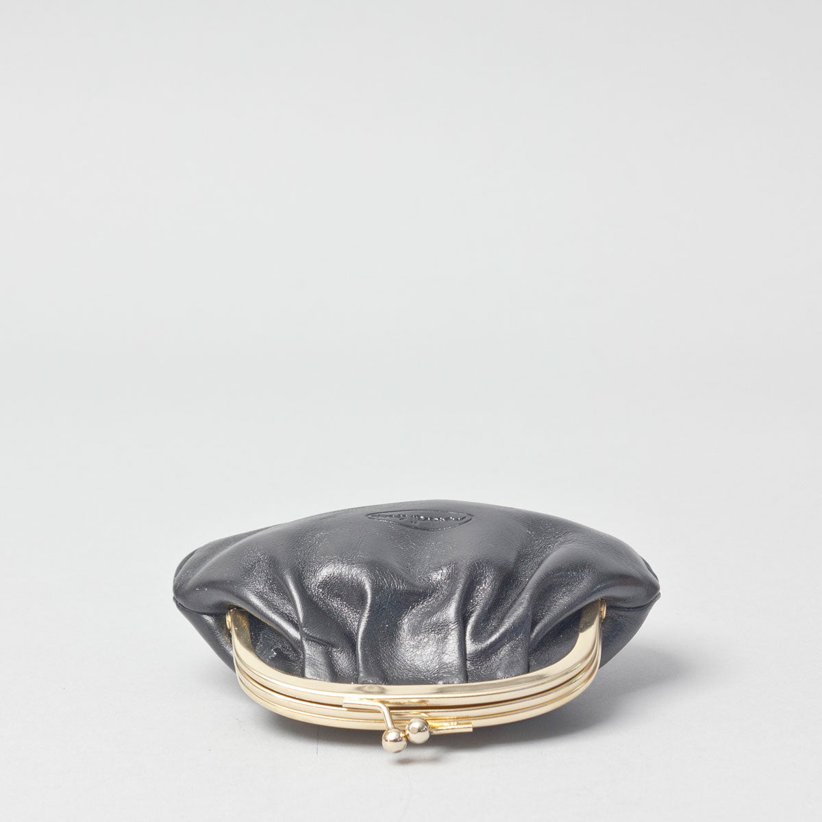 Image 2 of the 'Sabina' Black Veg-Tanned Leather Purse