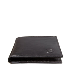 Image 5 of the Black Leather Billfold Card Wallet