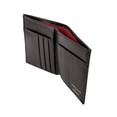 Image 3 of the Black Leather Billfold Card Wallet
