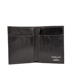 Image 2 of the Black Leather Billfold Card Wallet