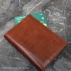 Image 8 of the Black Leather Billfold Card Wallet