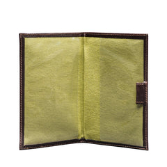 Image 3 of the 'Sestino' Dark Chocolate Veg-Tanned Leather Golf Card Holder