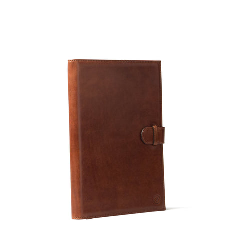 Image 2 of the 'Gallo' Chestnut Veg-Tanned Leather Prestige Business Folder