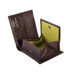Image 5 of the 'Ticciano' Brown Veg-Tanned Leather Wallet with Coin Pocket