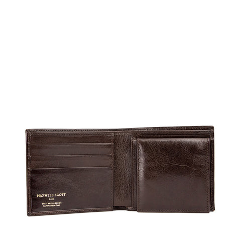 Image 2 of the 'Ticciano' Brown Veg-Tanned Leather Wallet with Coin Pocket