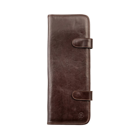 Image 1 of the 'Tivoli' Brown Veg-Tanned Leather Tie Cover