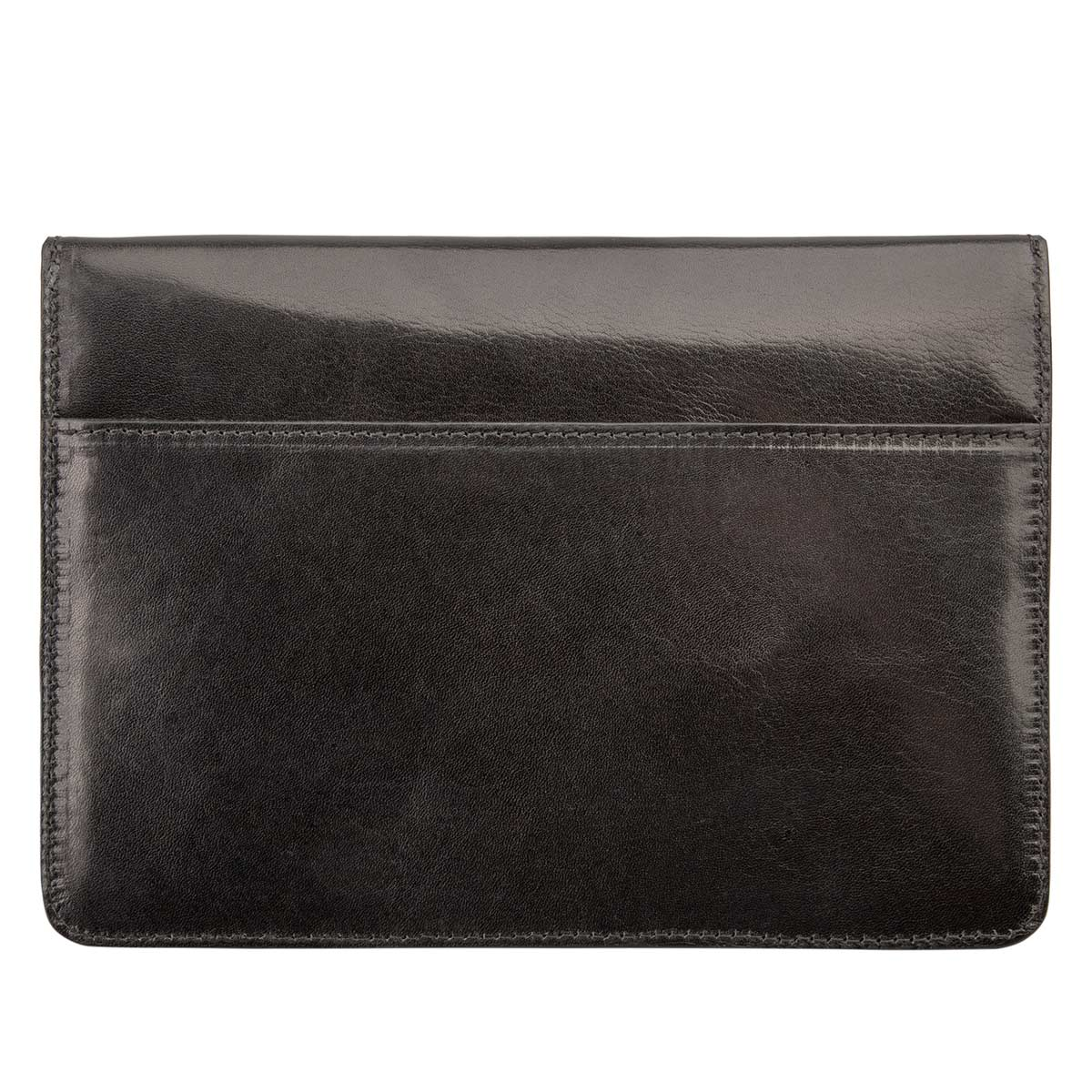 Image 3 of the 'Torrino' Black Veg-Tanned Leather Travel Wallet