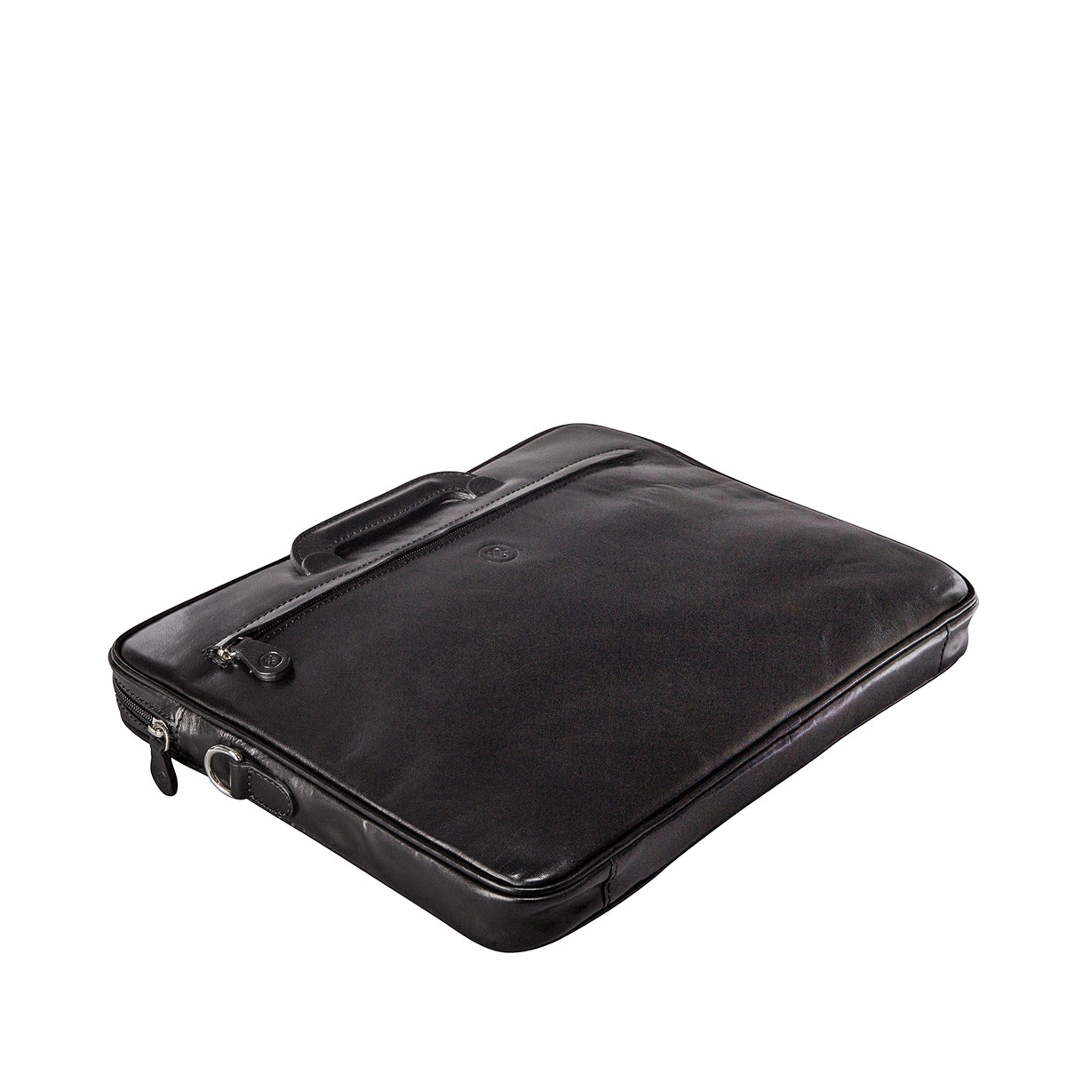 Image 4 of the 'Tutti' Black Veg-Tanned Leather Document Folio