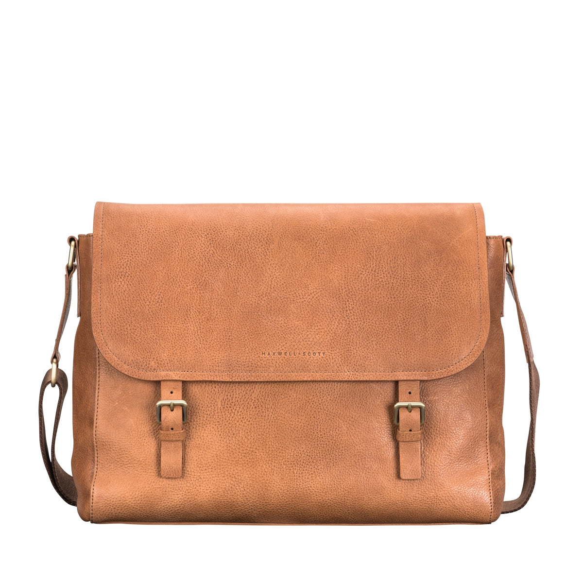 Image 1 of the 'Ravenna' Men's Leather Classic Satchel Bag