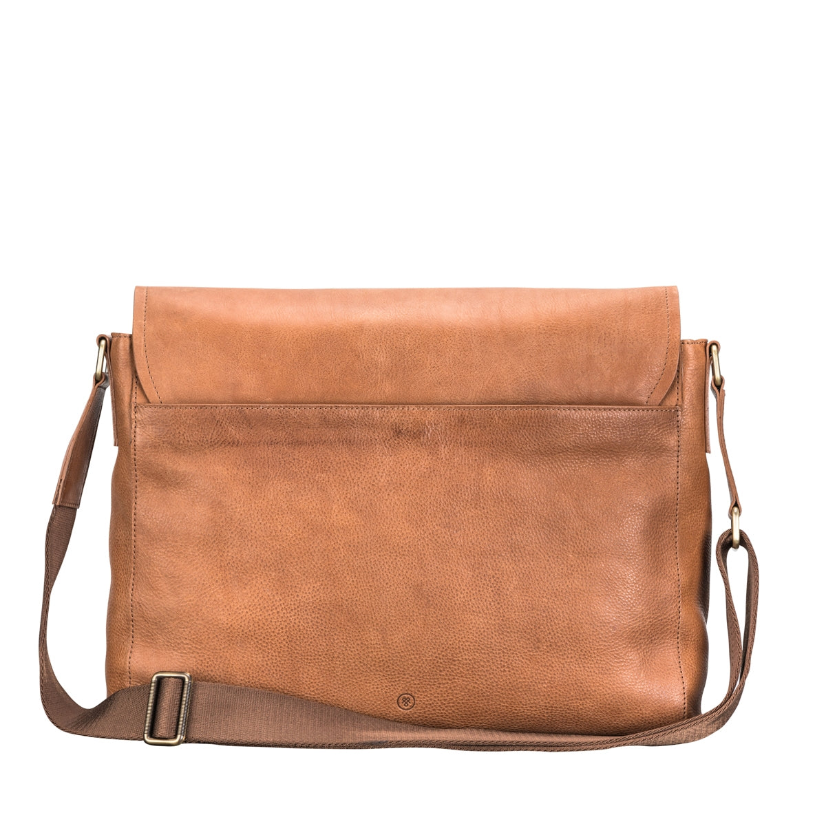 Image 4 of the 'Ravenna' Men's Leather Classic Satchel Bag