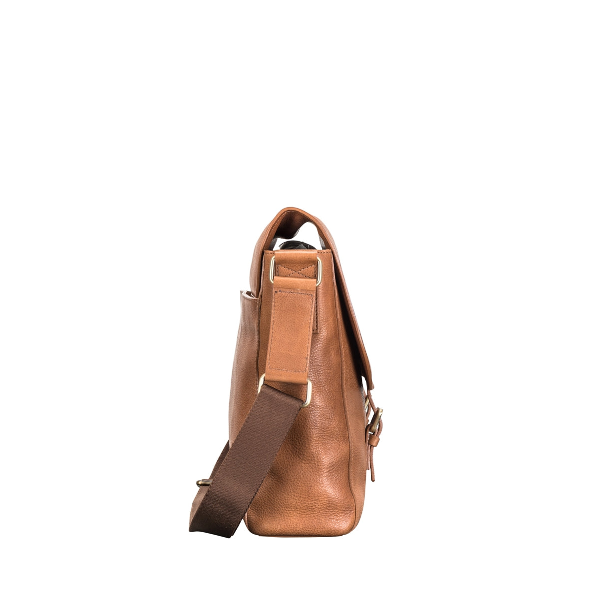 Image 3 of the 'Ravenna' Men's Leather Classic Satchel Bag
