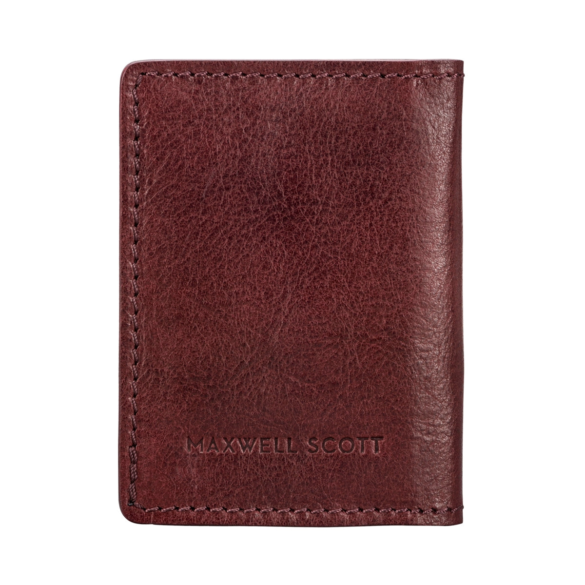 Image 3 of the 'Vallata' Wine Leather Oyster Card Holder