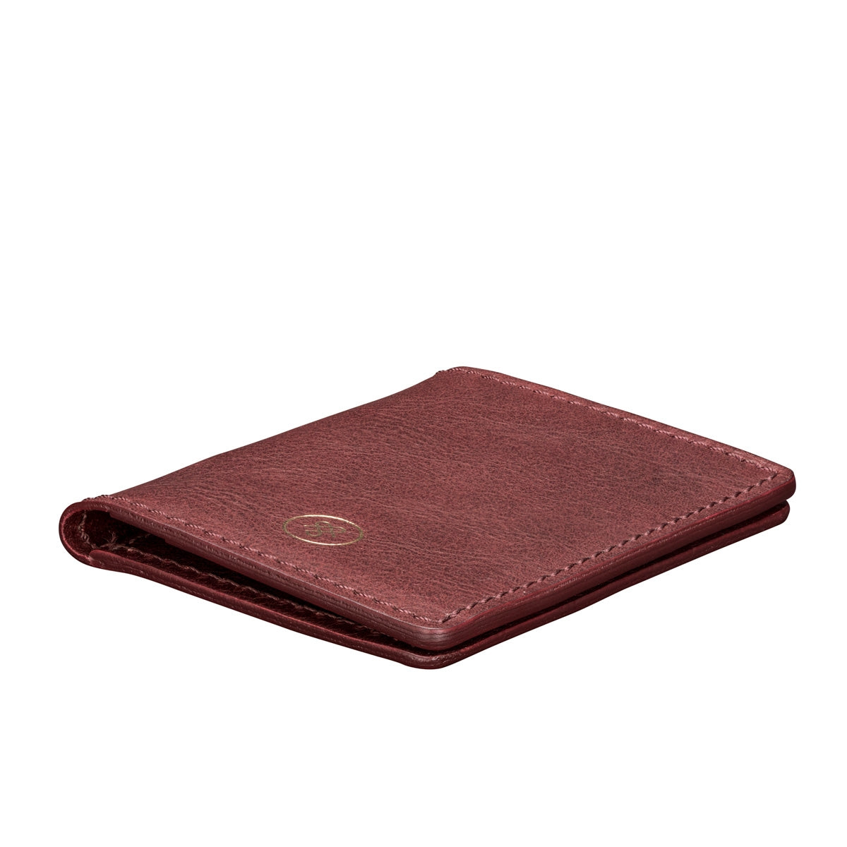 Image 5 of the 'Vallata' Wine Leather Oyster Card Holder