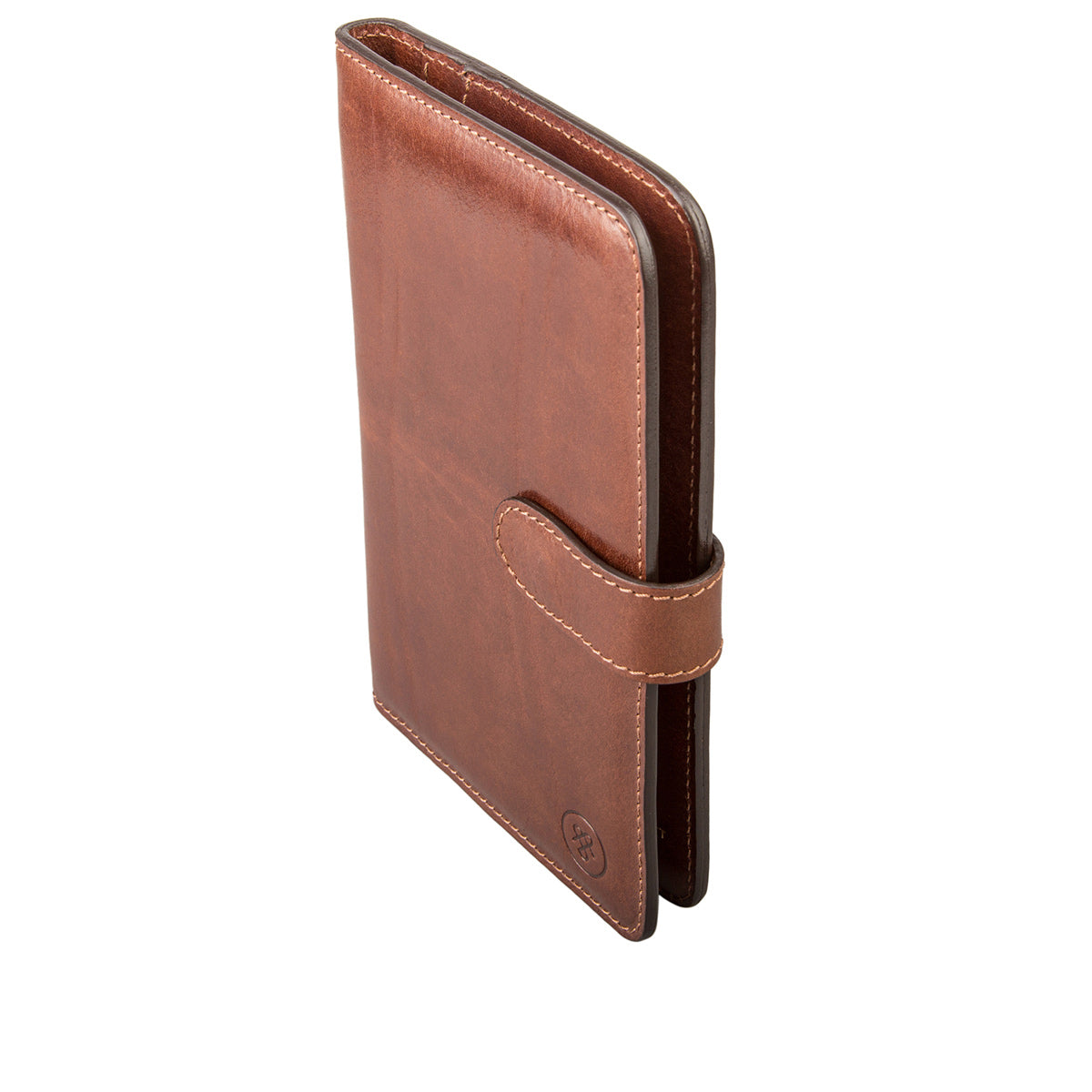 Image 3 of the 'Vieste' Chestnut Veg-Tanned Leather Travel Wallet
