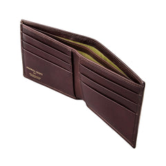 Image 3 of the 'Vittore' Dark Chocolate Veg-Tanned Leather Bi-Fold Wallet