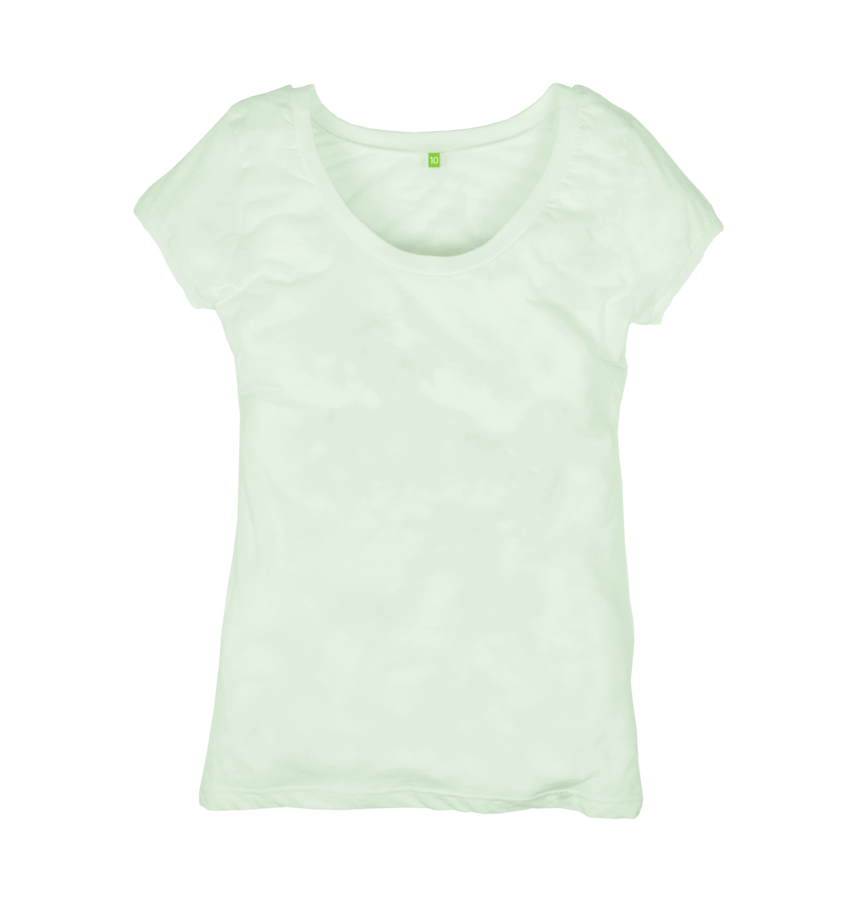 Image 1 of the Women's Organic Cotton Ethical Baby Blue T-Shirt