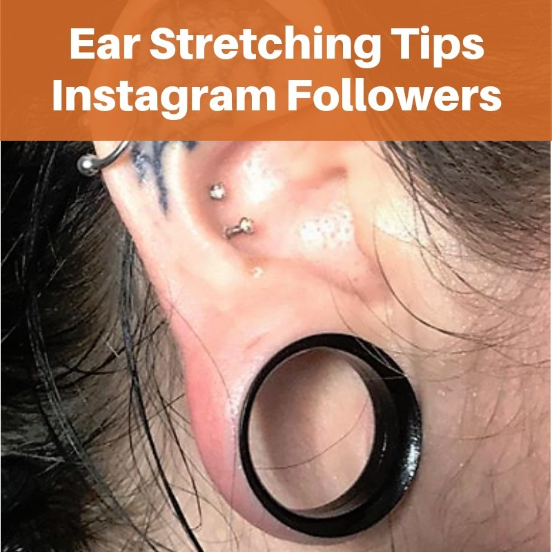 BodyJ4You Ear Lobe Stretching Experiences From Our Instagram Followers!
