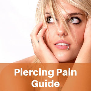 Piercing Pain Charts | Which body piercings hurt the most?