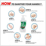 75% Alcohol Hand Sanitizer 10oz (295ml) - BodyJ4you