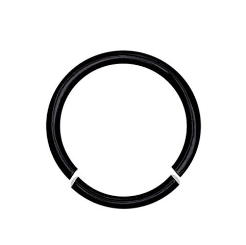 BodyJ4You 16 Gauge Black Stainless Steel Segment Ring - BodyJ4you