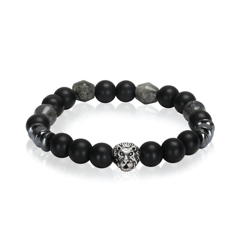 BodyJ4You Bracelet Healing Natural Stone Power Crystal Stretch Beaded Jewelry - BodyJ4you