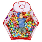 DIY Creations Play Pit Hexagon Basketball Hoop 50 Multicolor Balls Boy Girl Cubby Indoor Outdoor - BodyJ4you