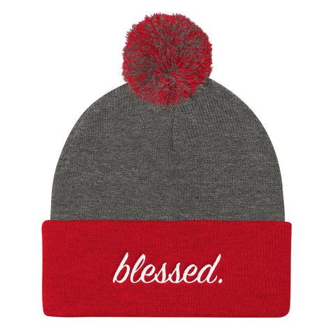 "Red Blessed ""FUZZ"" Beanie"