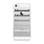 "Blessed""CAL"" iPhone Case"